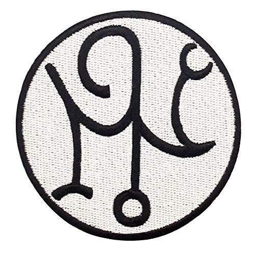 Símbolos de protección contra el mal Parche Bordado de Aplicación con Plancha