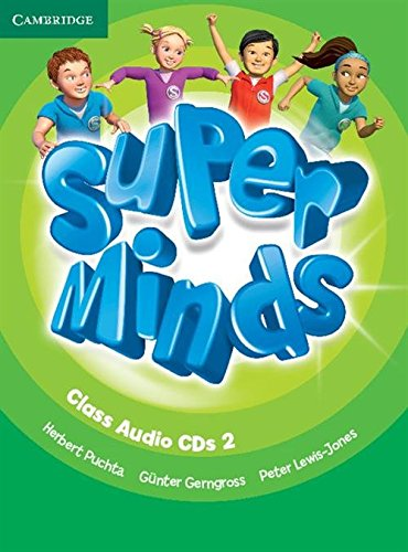 Super Minds Level 2 Class Audio CDs - 9781107674066