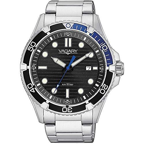 orologio solo tempo uomo Vagary By Citizen Aqua Diver classico cod....