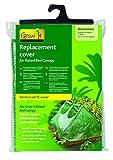 Gardman 08767 Ersatzabdeckung für Hochbeete Verstärkte PE-Abdeckung - Hochbeetabdeckung