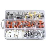 ViD - Assortiment de 195 mini bornes de connexion rapide C2073 pour fils rigides
