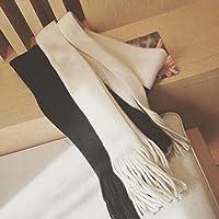 Color sólido de doble cara Lucha imitación cachemira bufanda bufanda chal , B