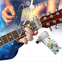 BRANDNEWS Guitar Chord Auxiliar Eficaz Sistema de Aprendizaje útil Herramienta de Ayuda para la enseñanza, Dispositivo de música para Todas Las Edades, 1 Piezas Pretty Well