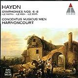 """Haydn : Symphonies n° 6 (""""Le Matin"""") - n° 7 (""""Le Midi"""") - n° 8 (""""Le Soir"""")"""