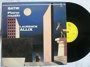 FL 3328 LAURENCE ALLIX Satie Piano Music vinyl LP