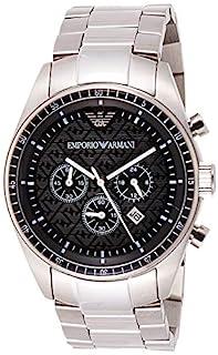 Emporio Armani Gents Chronograph Stainless Steel Bracelet Watch (B0015PRK16) | Amazon price tracker / tracking, Amazon price history charts, Amazon price watches, Amazon price drop alerts