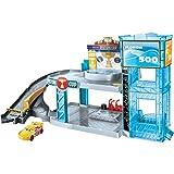 Cars Mattel Piston Cup Garage Piste Macchinine e Lanciatori, Multicolore, FWL70