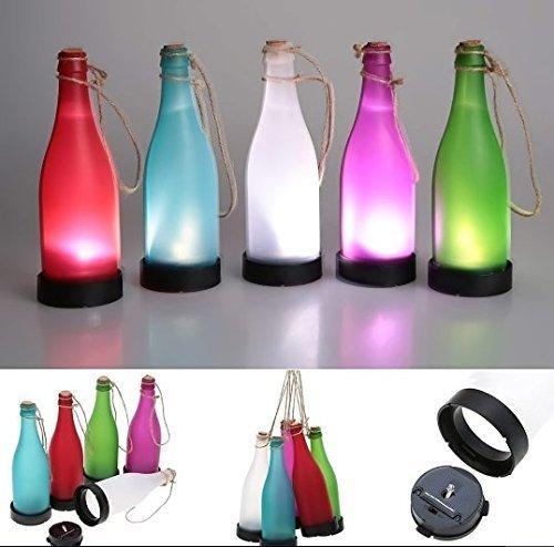 LED Solarwein-Flaschen-Lichter Garten-hängende Lampe angetriebenes Gefühl-Licht für Partei-im Freiengarten-Hof-Patio-Pfad-Dekoration (Thanksgiving Hof Dekorationen)