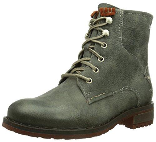 Josef Seibel Schuhfabrik GmbH Emily 01 Damen Combat Boots Grün (oliv/tango 547)