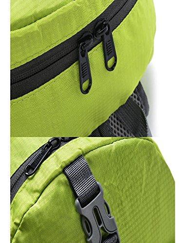 HCLHWYDHCLHWYD-Folding leggeri impermeabili spalla sacchetto di nylon uomini sport all'aria aperta borsa zaino da escursione , 7 8