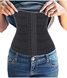 Gotoly Waist Cincher Training Korsett Body Shaper Damen Bauch Weg (S, Black)