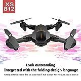 Bovake Kamera Faltbare RC Quadcopter Drohne VISUO XS812 GPS 5G WiFi FPV 2MP 720P HD