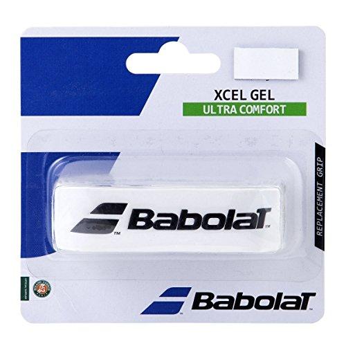 Babolat Xcel Gel X 1 Accesorio Raqueta de Tenis, Unisex Adulto, Blanco, Talla Única