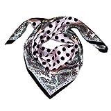 Lorenzo Cana Luxus Damen Seidentuch aufwändig bedruckt Tuch 100% Seide 70 x 70 cm harmonische Farben Damentuch Schaltuch 89050