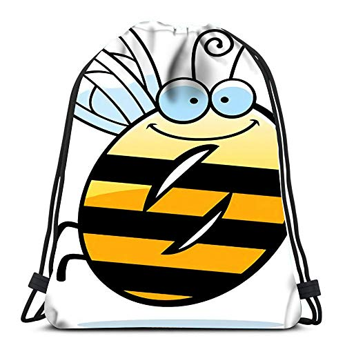 Durable Drawstring Backpack Cartoon of The Number Zero with An Theme For Carrying Around
