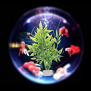 WIDEN Simulation Herbe Paysage Plantes aquatiques Plantes décoratives Décoration pour Aquarium Plastique