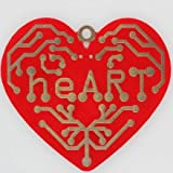 Proto-Pic Heart - a Beating Heart Surface Mount Soldering Kit