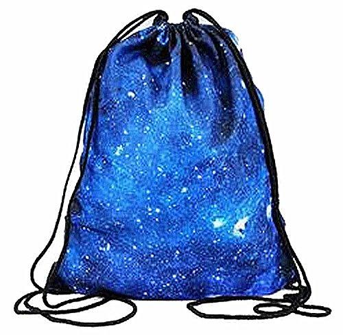Galaxy Kukubird Verschiedene Kukubird Blue Mit Staubbeutel Print Einfach Rucksack 0rnOW0q7