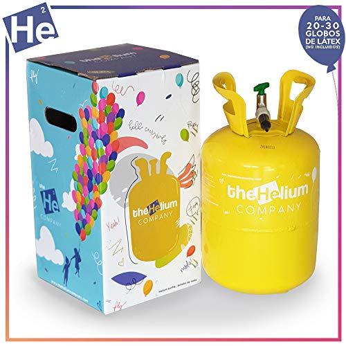 Bombona de helio para globos. Helio para globos. -Capacidad de llenado de esta botella para 30 globos de latex a 20 cm de diámetro o 25 globos de latex a 23 cm -El tiempo de flotación , depende de la calidad del globo y del tamaño del globo lleno de ...