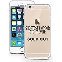 licaso® - Carcasa protectora ultrafina para iPhone 7 de poliuretano termoplástico, , silicona TPU, Shortest Horror Story ever, iPhone 7