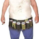 WINOMO Ceinture de Bière Portable Ceinture Boisson pour Course, escalade, voyage, sport