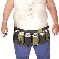 Description Fait de tissu Oxford de haute qualité, la ceinture de bière grimpante est durable et durable. Faites glisser la ceinture autour de votre taille et chargez-le avec six canettes de bière. Il peut s'adapter confortablement autour de votre ve...