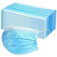 USOCUTE 50/100 Piezas Adultos Protección_mascarillas,3 Capas Transpirables