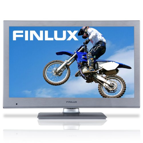 Finlux 19H6030S 19 Inch Widescreen HD Ready 720p LED TV with Freeview & Built-in PVR Silver