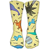Caps big Elephant's Walking Set Pattern Crew Sock Novelty Tube Socks 11.8 Inch Long for Adult Outdoor Workout Performance