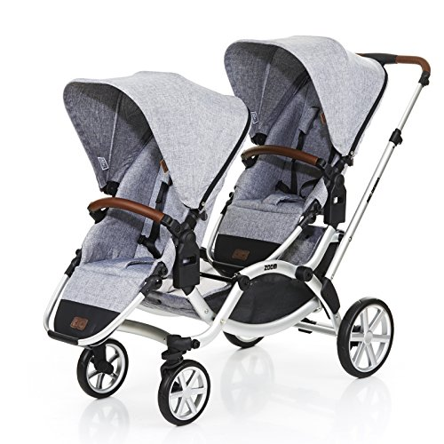 ABC DESIGN ZOOM Zwillings- und Geschwisterwagen Design 2018 graphite grey OneSize