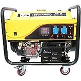 Bison Generador electrico de Gasolina Arranque automatico 8500W Grupo 8,5Kw Motor 4T