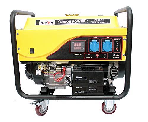 Bison Generador electrico Gasolina Arranque automatico
