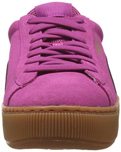 Puma Vikky Platform, Scarpe da Ginnastica Basse Donna Rosa (Rose Violet-rose Violet 04)