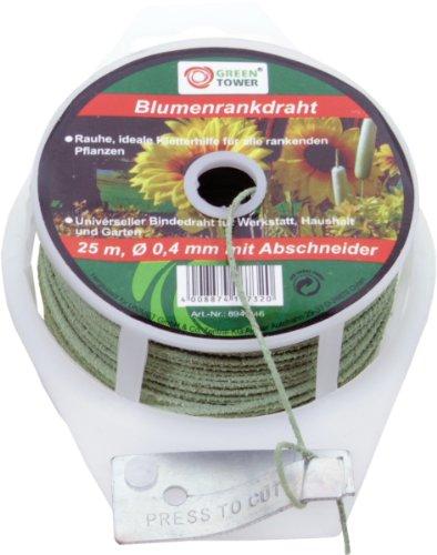 Blumenrankdraht BLUMENRANKDRAHT GRUEN 0,4 MM 25M-894246