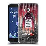Head Case Designs Offizielle Brandalised Affe mit Zeichen Banksy Kunst Farbtropfen Soft Gel Hülle für HTC U11/Dual