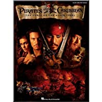 Pirati dei Caraibi, La perla nera–Pirates Of The Caribbean, The Curse Of The Black Pearl - Spartito per pianoforte livello principianti [note musicali]