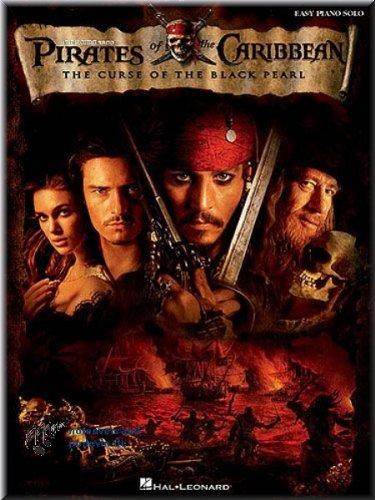 Preisvergleich Produktbild Fluch der Karibik - Pirates of the Caribbean, The Curse Of The Black Pearl (Easy Piano) - Klaviernoten [Musiknoten]