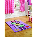 Kiddy Play Rayuela Multicolor Kiddy alfombra 110X 160