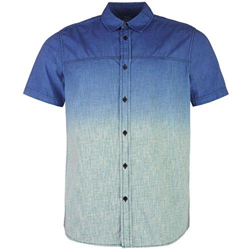 ocean-pacific-dip-dye-homme-t-shirt-tee-top-haut-manche-courte-sport-running-bleu-extra-lge