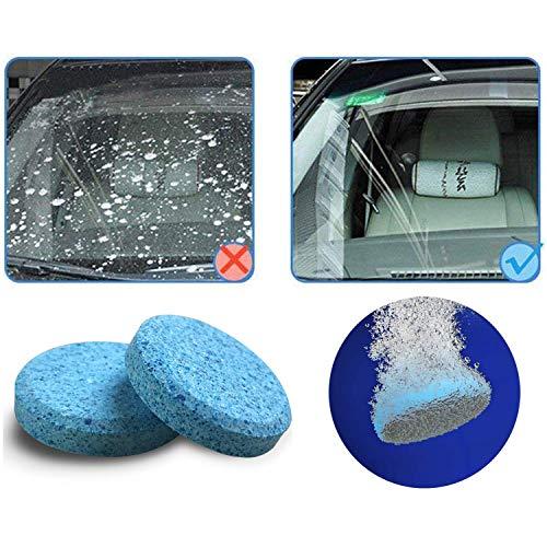 Wemk Liquido lavavetri Pastiglie effervescenti liquido lava vetro 30pcs pack Car Parabrezza Pulizia Accessori per auto Detergente per vetri Auto Solid Wiper.