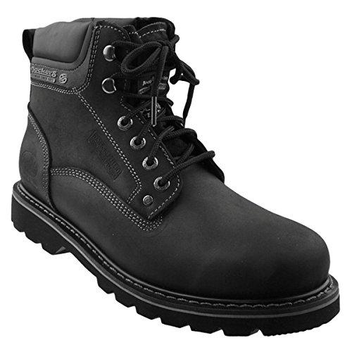Dockers Gerli - Botas de Cuero Para Hombre, Color Negro, Talla 40