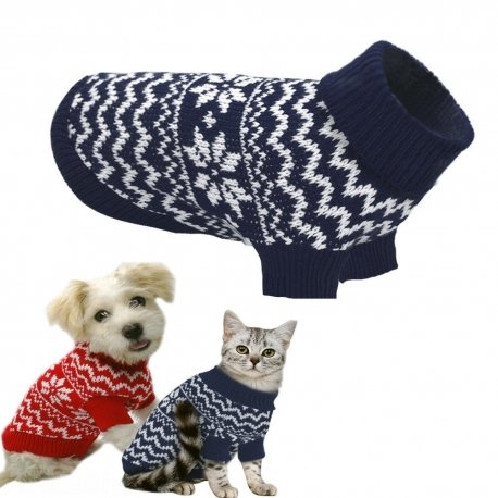 Trade Shop TraesioMAGLIONCINI Caldi per Cane Cani di Piccola Taglia Colorate Caldo per l'inverno