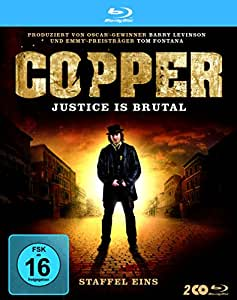 Copper - Justice Is Brutal/Staffel 1 [Blu-ray]