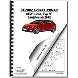 SEAT Leon Typ 5F (12>) Fahrwerk, Achsen, Lenkung - Reparaturanleitung