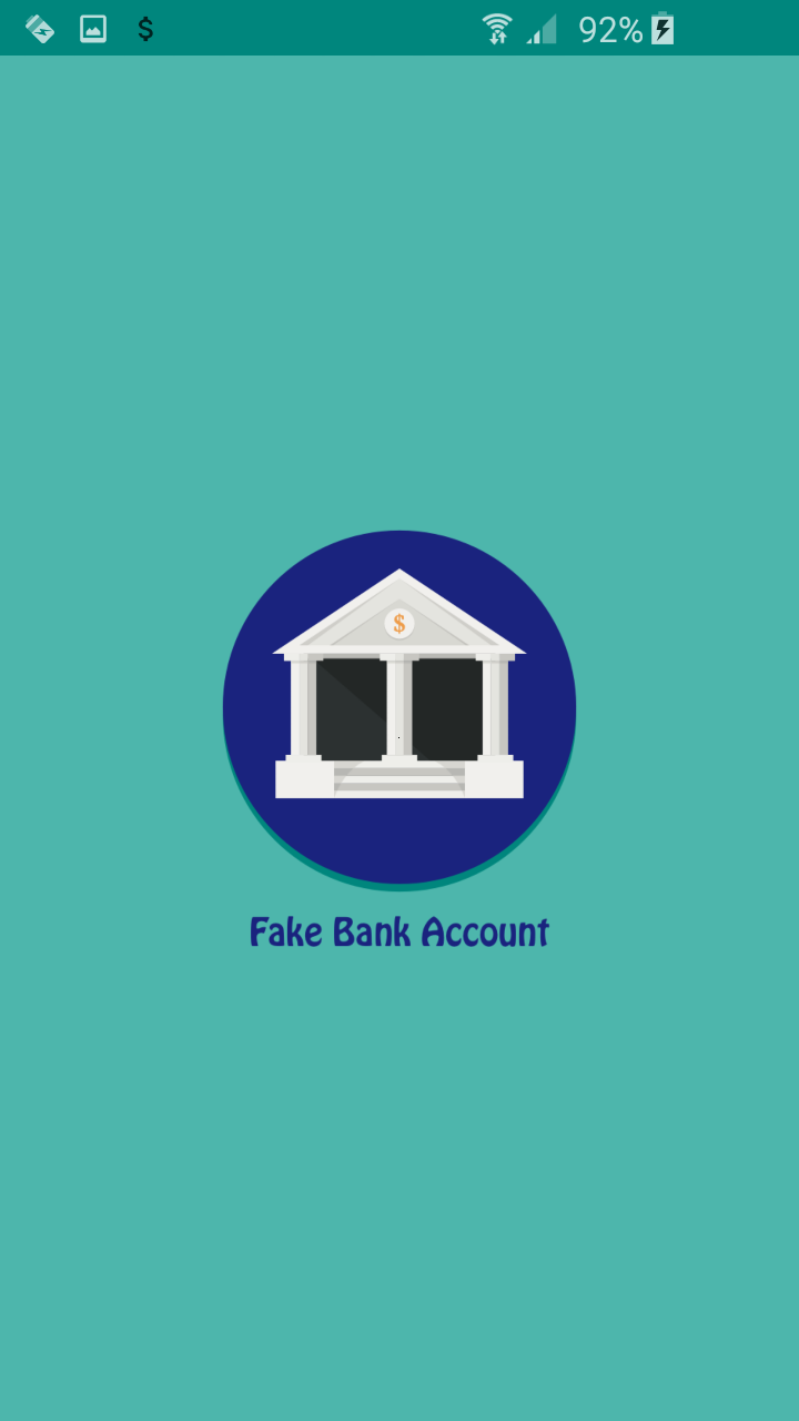 Fake Bank Account: Amazon co uk: Appstore for Android