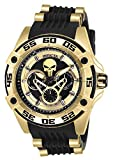 Invicta 27034 Marvel - Punisher Reloj Unisex acero inoxidable Cuarzo Esfera negro