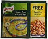 #1: Knorr Chinese Sweet Corn Veg Soup, 52g with Free Crunchy Croutons, 8g
