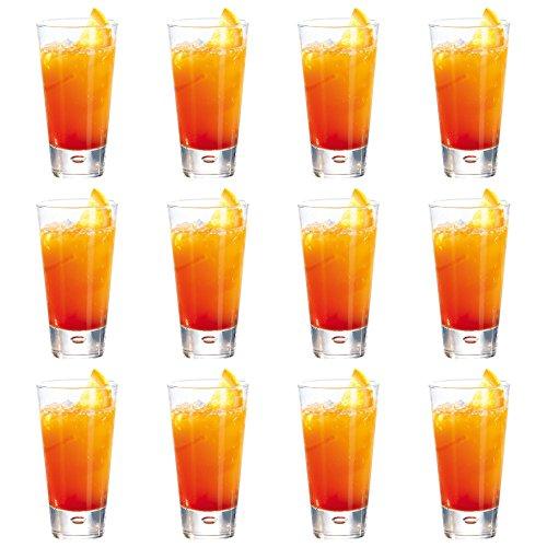 Durobor bicchieri modello norway, tipo highball, per cocktail/bevande, da 320 ml - confezione da 12