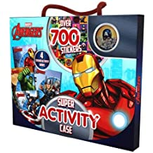 Marvel Avengers Super Activity Case: Over 700 Stickers (On the Go Activity Pack)