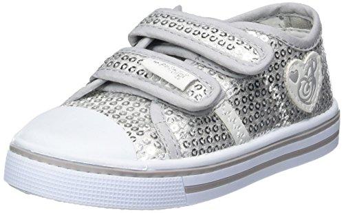 Primigi Pbu 7253, Chaussures Marche Bébé Fille Argent (Silver)